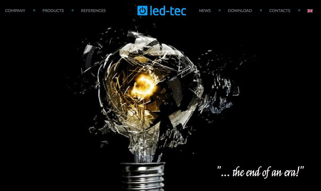 led-tec homepage eng