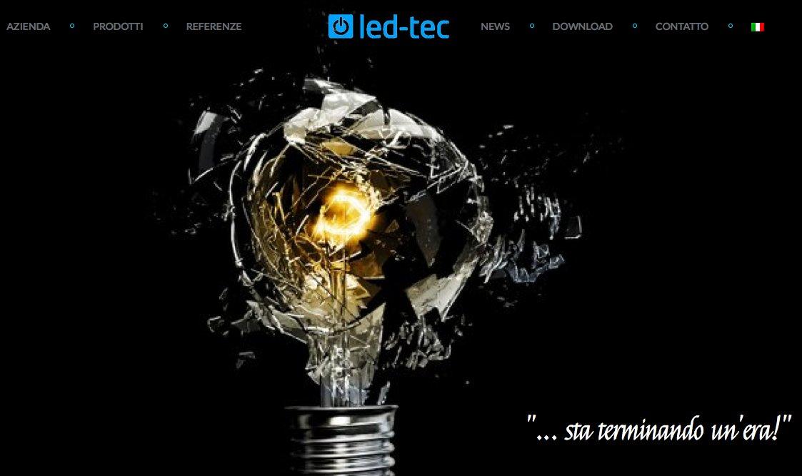 led-tec sito in italiano